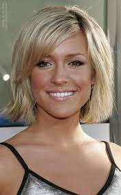 pictures of hairstyle neck line kristin cavallari with her hair cut short and halfway up her neckline