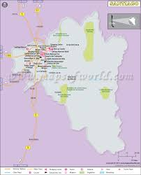 Map Of Chile South America by Santiago Map Map Of Santiago City Chile