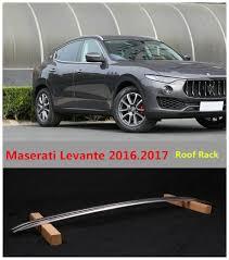 maserati car 2016 for maserati levante 2016 2017 roof racks car luggage rack high