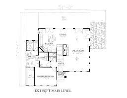 modern style house plan 3 beds 2 50 baths 2160 sq ft plan 437 55