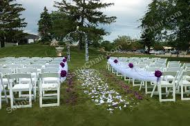Rent Garden Chairs Ceremony Decor U2013 Rent In Chicago Event Decor By Satin Chair