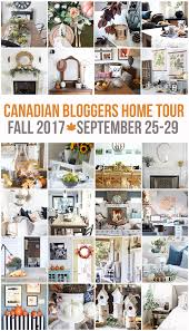Canadian Home Decor Magazines Fall Home Decor Ideas Fall Home Tours Clean And Scentsible