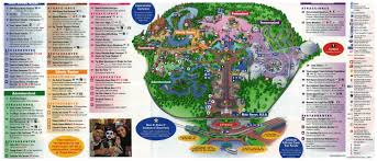 Map In Spanish Magic Kingdom Mapa En Español Disney World Universal Pinterest