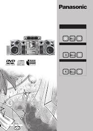 panasonic stereo system sc vk71d user guide manualsonline com
