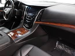 cadillac escalade 2015 interior pre owned 2015 cadillac escalade esv luxury sport utility in