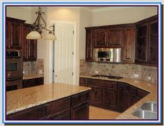 Alder Kitchen Cabinets by Our Kitchen Cabinets Knotty Alder In Walnut Stain Not Exact