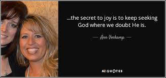 Seeking What Is It About Vosk Quote The Secret To Is To Keep Seeking God