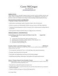 sample resume for fine dining server vons employment application