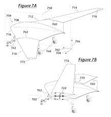patent us8387913 compact aircraft wing folding systems and