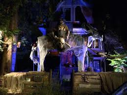 east vancouver house transformed into haunted pirate ship