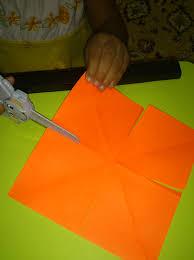 membuat hiasan bunga dari kertas lipat aku bergembira crafting membuat bunga kertas nimahmushoffa s blog