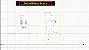 25 hp electric motor control wiring diagram youtube