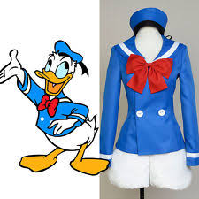 donald duck costume ebay