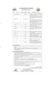 punjab food authority nts jobs 2017 application form roll number