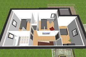 les 3 chambres plan de maison chambres salon 21970 sprint co