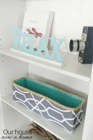 diy decorative storage bin cardboard box upcycle u2022 our house now
