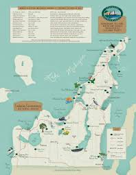 Port Huron Michigan Map by Natural Areas And Preserves Map And Directions The Leelanau