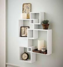 Modern Wall Bookshelves The 25 Best Floating Cube Shelves Ideas On Pinterest Easy