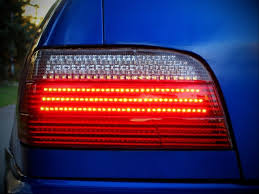 how to make custom led tail lights my bmw e36 led tail light retro on 7th gen corolla pic heavy