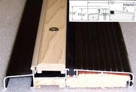 Replacing An Exterior Door Threshold Exterior Door Threshold Seal Image Titled Replace A Door Sill Step