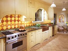 French Country Kitchen Backsplash Ideas Kitchen Restaurant Kitchen Design Miami Photos French Country