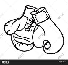 boxing gloves illustration image u0026 photo bigstock