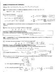 permutations and combinations worksheet math 1390 utzerath