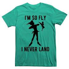 men u0027s peter pan u0027m fly land shirt target