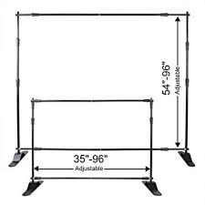 backdrop stand portable 8 ft backdrop stand for photography