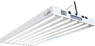 t5 fluorescent grow lights amazon com agrobrite flt46 t5 fluorescent grow light system 4