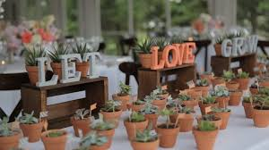 plant wedding favors let grow wedding favors potted plants wedding