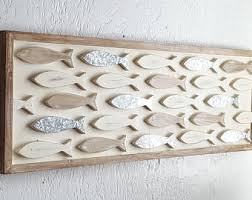 superb wooden fish wall decor decorative hangings for wood on a