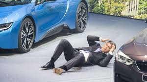 bmw ceo bmw ceo collapses in the middle of press conference