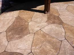 Seamless Stamped Concrete Pictures by Up Close Pic Of Stamped Concrete Looks Like Flagstone But That U0027s