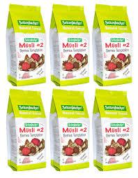 amazon com seitenbacher muesli cereal 4 gourmet mix 16