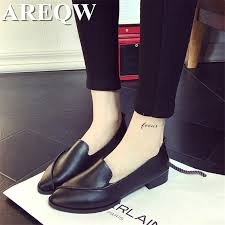 Comfortable Stylish Work Shoes Popular Comfortable Work Shoes For Women Flats Buy Cheap