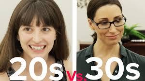 dating 20s vs 30s youtube