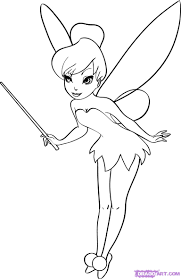 Couch Drawing Step By Step How To Draw Tinkerbell Step By Step Disney Characters Cartoons