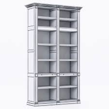 inspirations restoration hardware bookcase for exciting interior