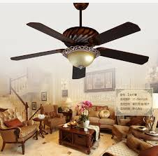 European Ceiling Lights 52inch Ceiling Lights Fan European Antique Ceiling Fans American