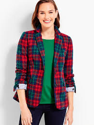 What Is Plaid Jackets For Women Talbots