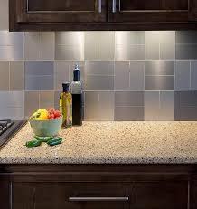 Peel And Stick Kitchen Backsplash For  Self Stick Glass Tile - Peel and stick kitchen backsplash
