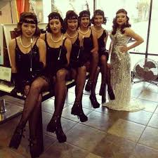 1920s themed quinceanera pinup hair makeup hair color