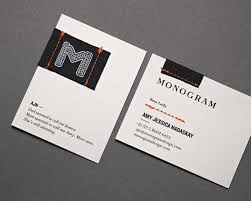Best Of Business Card Design Search Results Monogram Lovely Stationery Curating The Very