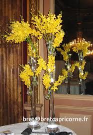 Vase Pour Composition Florale Décoration Florale Buffet Et Table Bret Capricorne Organisation