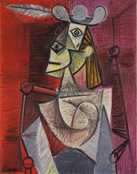 An Armchair Woman In An Armchair 1941 Pablo Picasso Wikiart Org