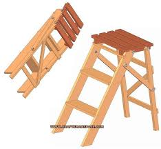Free Wood Step Stool Plans by 96 Best Ladder Images On Pinterest Woodwork Chairs And Wood