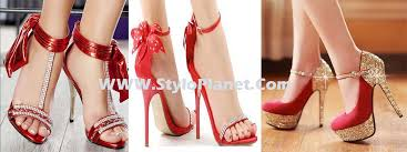Wedding Shoes 2017 Bridal Latest Red Wedding Shoes Collection 17 Stylo Planet