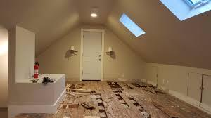 Insulation Under Laminate Flooring Flooring Finishing Attic Floor Joists Blocking Insulation