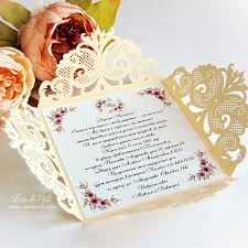 Folded Invitation Card Wedding Invitation Digital Pattern Card Template Lace Folds